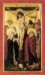 Figure 3. Unknown German master Crucifixion 1445