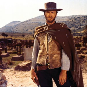 Figure 3. Film still from The Good, the Bad and the Ugly, 1966.