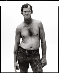 Figure 5. Richard Avedon, In the American West: Billy Mudd, Trucker, Alto, Texas, 1981