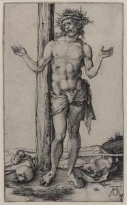 Figure 5: Albrecht Dürer's Man of Sorrows with Arms Outstretched (1500)