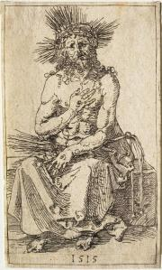 Figure 4: Albrecht Dürer's Man of Sorrows Seated (1515)
