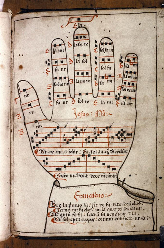 the hand as the mirror of salvation  single sheet woodcut diagram of warrior