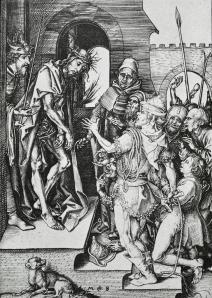 Figure 2: Martin Schongauer's Ecce Homo, 1480