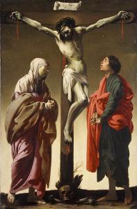 Figure 1. Ter Brugghen Crucifixion 1588 Dutch. Metropolitan Museum