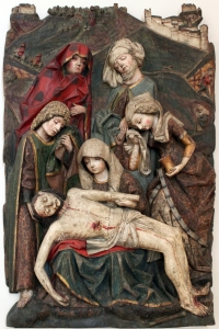 Figure 3. Anonymous, Lamentation of Christ, 1480, Bodemuseum