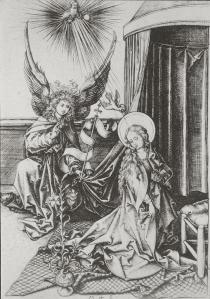 Figure 1 Martin Schongauer, Nativity, 1480