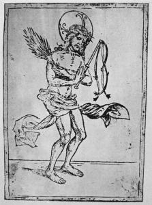 Figure 4. Hans Burgkmair, Christ as the Man of Sorrows, 15th-16th century, woodcut