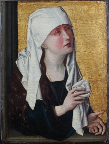 Master of the Stötteritz Altar, Mother of Sorrows, oil on panel, Germany, c. 1470-1480. Jacksonville, FL, The Cummer Museum of Art, Gift of Mrs. Clifford G. Schultz in memory of Mr. Clifford G. Schultz, AG 1984.1.1.