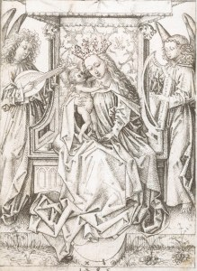 Figure 4. Albrecht Dürer, Mary with Child and Angels, 1485
