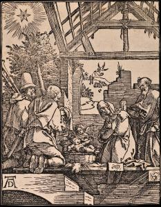 Figure 4 Albrecht Dürer, Nativity, ca. 1509