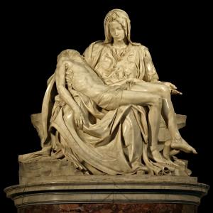 Figure 1. Michelangelo,  Pietà, 1499
