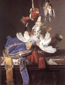 Figure 2. Willem van Aelst, Hunting Still Life, 1665