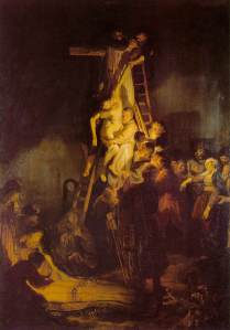 Figure 1 Rembrandt Harmenszoon van Rijn: The Descent from the Cross, c.1633. Oil on canvas