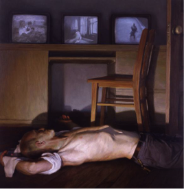 Figure 4. Bryan Leboeuf: Age of Man, 2003. Oil on linen