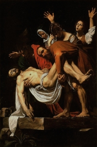 Figure 5. Caravaggio: The Entombment, c. 1602-1604. Oil on canvas