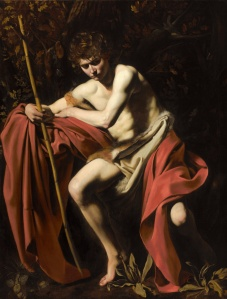 Figure 1. Caravaggio, St. John the Baptist in the Wilderness, 1604