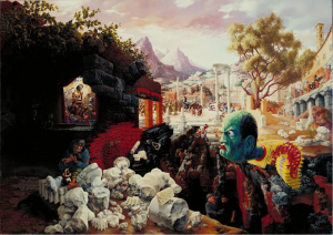 Figure 4 Peter Blume, The Eternal City. 1937. Oil on composition board, 34 x 47 in.