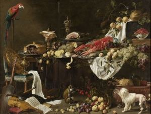 Figure 6. Adrian van Utrecht, Banquet Still Life, 1644